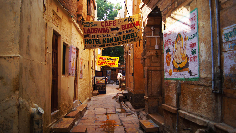 印度|齋沙默爾 Jaisalmer|闖進拉賈斯坦金色之城—古堡篇