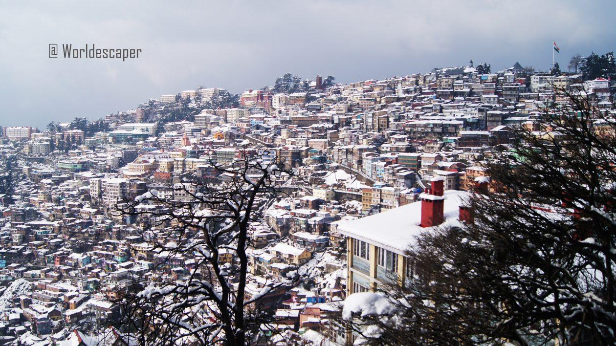 西姆拉|Shimla|被白雪覆蓋的日子