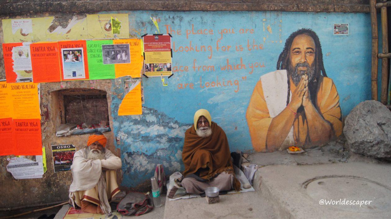 印度|瑞詩凱詩|Rishikesh|誤闖橘色Shanti國度