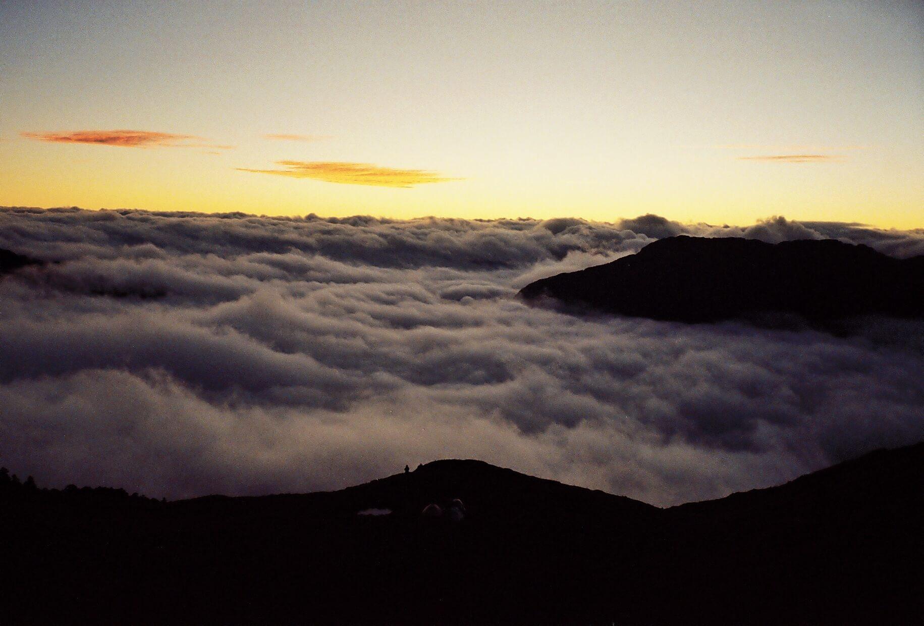 台灣 | 合歡西北峰 | Hehuan Mountains | 山林間的魔幻時刻